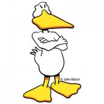 Mad Duck by John Baron humorous anger management gift idea