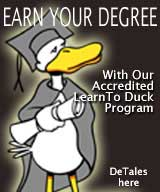 Earn Your Degree Duck Tales by John Baron