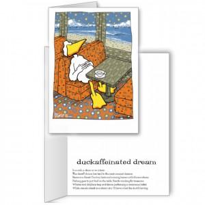 Duckaffeinated dreams art from DuckTales by John Baron