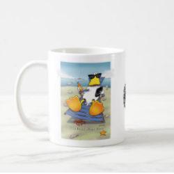 The duck stops here mug